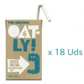 Pack Promo 18 Uds Bebida Avena Calcio Oatly BIO, 250 ml