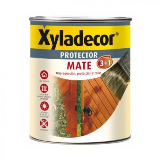 Protector mate extra 3 en 1 NOGAL Xyladecor