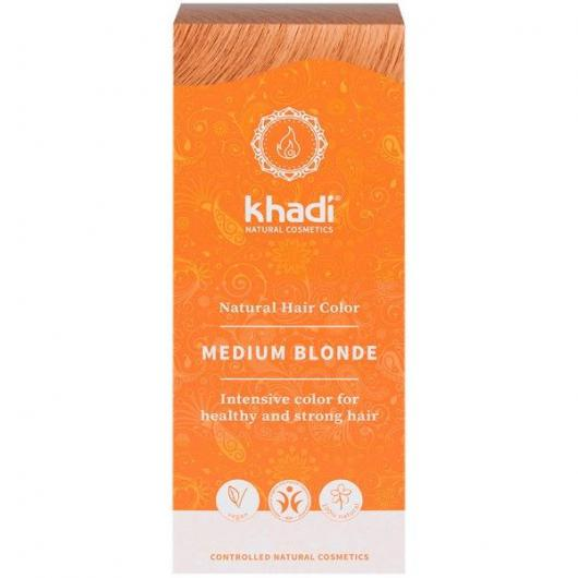 Tinte herbal rubio medio Khadi
