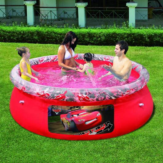 PISCINA INFANTIL CARS FAST SET