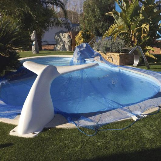 Protector de piscina Leaf Pool Cover 5 x 8 m