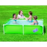 Piscina infantile My First Frame verde media 163 x 163 x 35,5