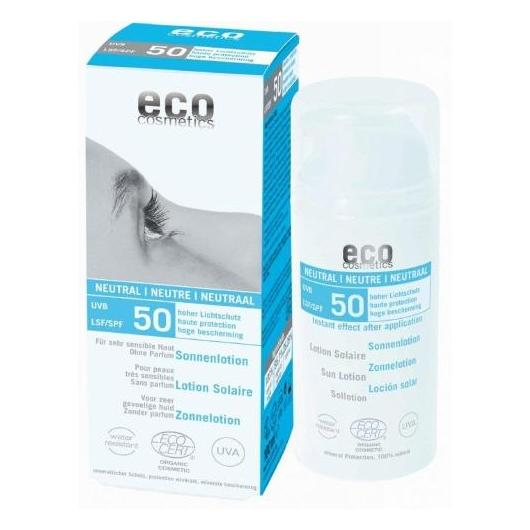 Loção solar Neutral FPS 50 EcoCosmetics, 100 ml