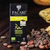 Chocolate ecológico 70% cacao raw Pacari