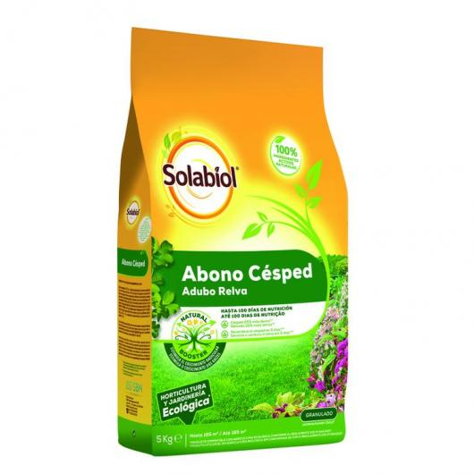 Fertilizante natural césped Solabiol