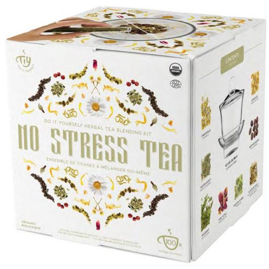 No Stress Herbal Tea TIY Tea Yourself