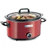 Crock Pot mijoteuse 3,5 L rouge
