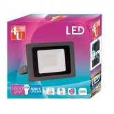 Foco Exterior LED SMD 30W luz Neutra 4000K 4U LED