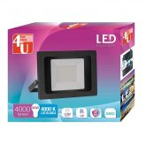 Foco Exterior LED 50W luz Neutra 4000K 4U LED
