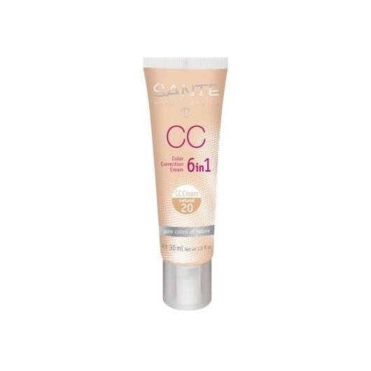 Trucco CC Cream 6 in 1 natural Sante 30ml