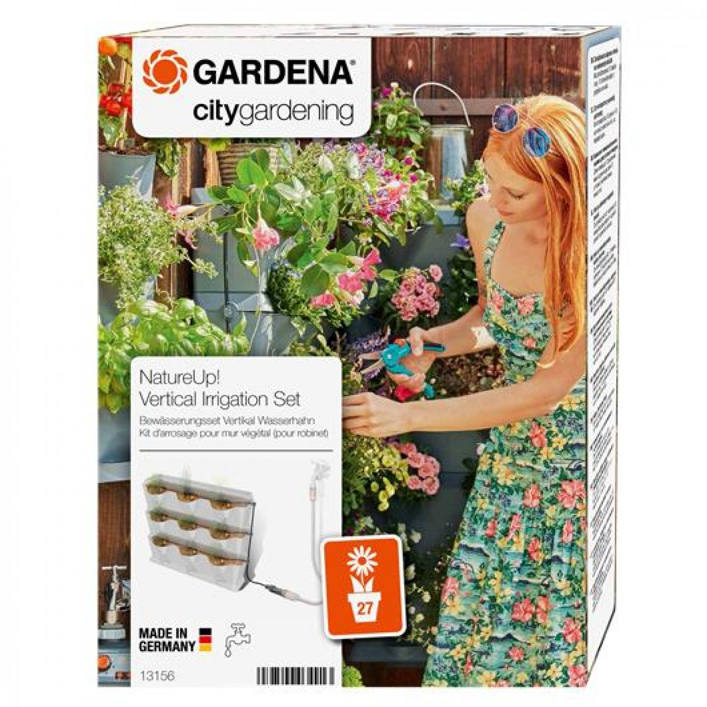 kit riego jard n vertical gardena nature up en planeta huerto