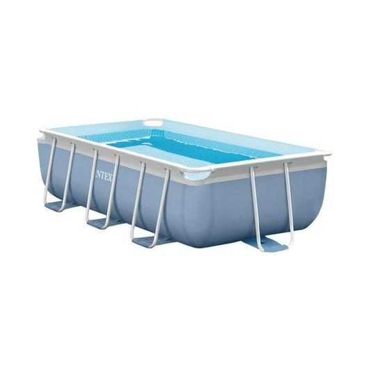 Piscina desmontable rectangular Intex - Prisma Frame - 300x175x80 cm - 3.539 litros