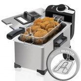 Friteuse CleanFry 3L Full Inox Cecotec 2000W