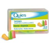 Tapon goma quies colores Deiters 6 ud.