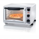Mini horno blanco 1500W Severin