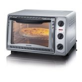 Mini horno gris 1500W Severin