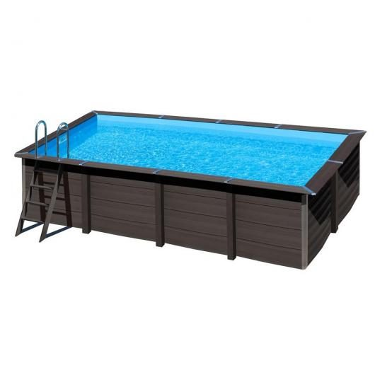 Piscina composte rectangular 606x326x124cm Gre