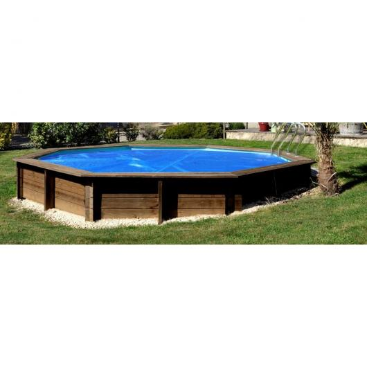 Cubierta para piscina ovalada Cannelle 551x351 cm