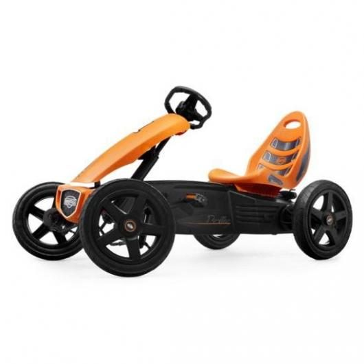 Quad infantil a pedales Berg Rally Modelo Orange Masgames
