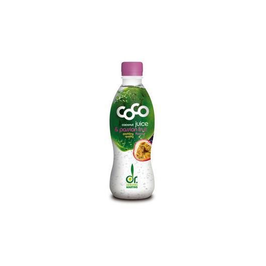 Coco drink passion fruits BIO Vegetalia 330ml