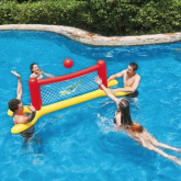 Set inflable para piscina volleyball