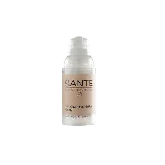 Fond de teint fluide Soft Cream beige clair Sante 30 ml