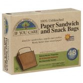 Bolsas de papel para sandwich If You Care 48 ud