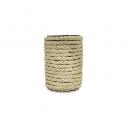 Cuerda de sisal natural 8mm 15 m