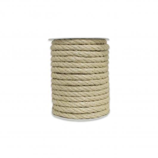 Cuerda de sisal natural 10mm 15 m