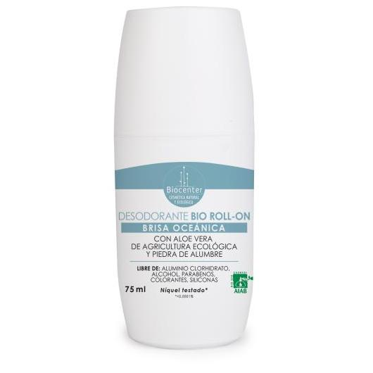 Desodorante Bio roll-on brisa oceánica Biocenter 75 ml