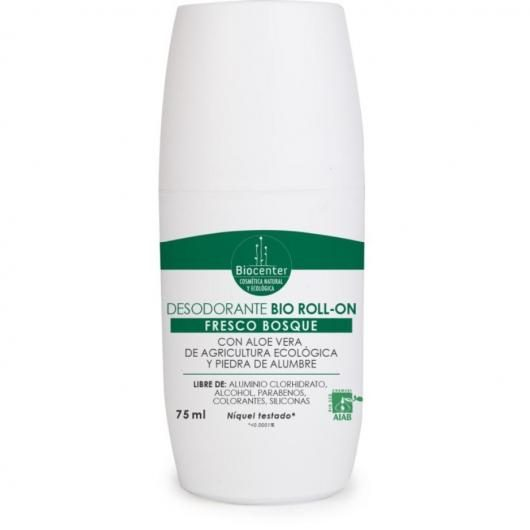 Desodorante Bio roll-on fresco bosque Biocenter 75 ml