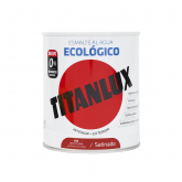Esmalte eco satinado rojo china Titanlux 750ml