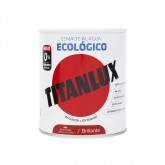 Esmalte eco brillante rojo china Titanlux 750ml