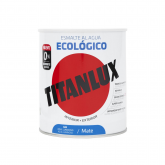 Esmalte eco mate azul luminoso Titanlux 750ml