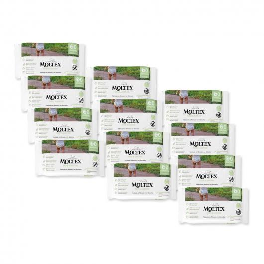 Pack 12x Toallitas biodegradables bio wipies 72 unidades