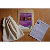 Organic cotton bag for sprouted seeds & vegetable drinks