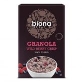 Granola Croustillant Fruits Rouges Biona 375g