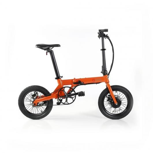 Bicicleta Eléctrica Plegable Fun Bike Oops Color Naranja