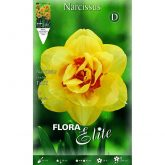 Bulbo Narciso doble amarillo Elite 5 ud