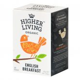 Té english breakfast Higher Living Organic 20 bolsas