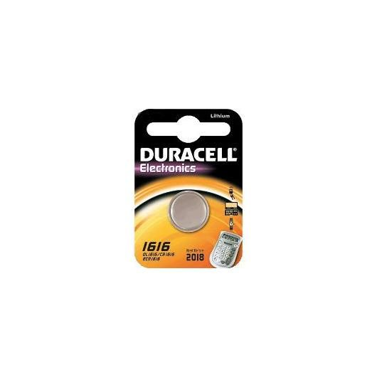 Pila bottone litio CR1616 3 V Duracell
