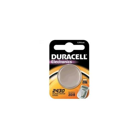 Pila bottone litio CR2430 3 V Duracell