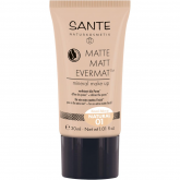 Base Líquida Matte Matt EvermatTM Mineral Maquillaje 01 Natural Sante 30 ml