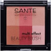 Colorete multi effect 6 tonos 02 cranberry Sante 8 g