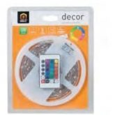 Kit d'éclairage LED multicolore 24 W 5 m Duolec