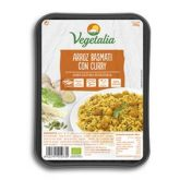 Arroz Basmati con Curry Bio Vegetalia, 285g