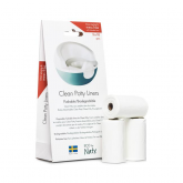 Sacos Clean Potty Liners 10x3 pc, Naty