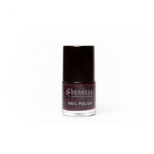 Vernis à ongles Deep Plum Benecos, 9 ml