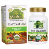 Garden Levadura roja del arroz (Red Yeast Rice) 600 mg 60 cápsulas, NaturePlus