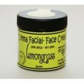 Crema facial piel seca Lemongrass, 60ml Maybeez